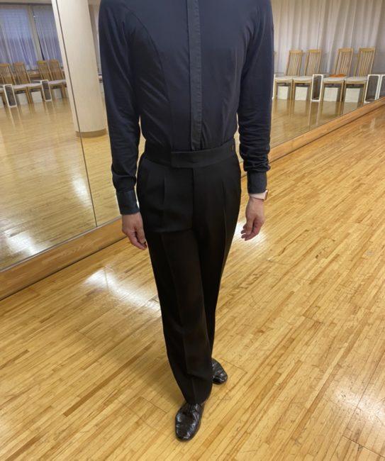 男性の社交ダンス初心者におすすめの服装